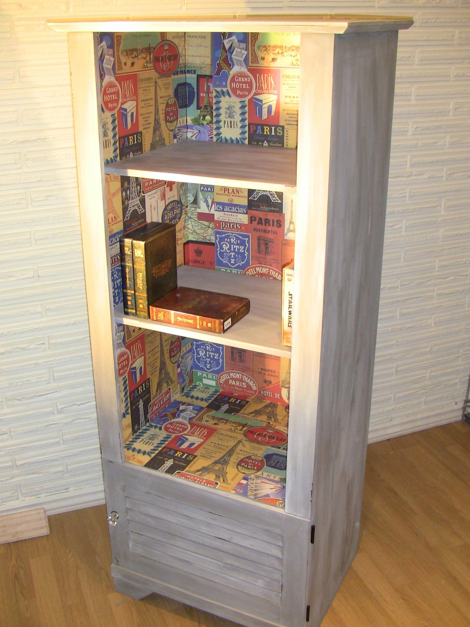 Biblioth Que Art D Co Pour Votre Salon Vendue  # Bibliotheque Pour Le Salon
