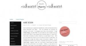 Boucle magazine - Aube design
