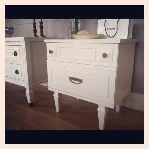 Pure white chalkpaint Annie Sloan