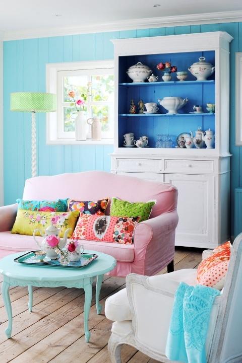 1- Doux et coloré  - inspiration Aube design