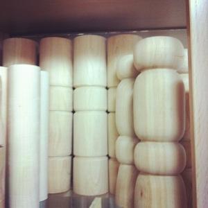 Pattes de bois fait par Aube design