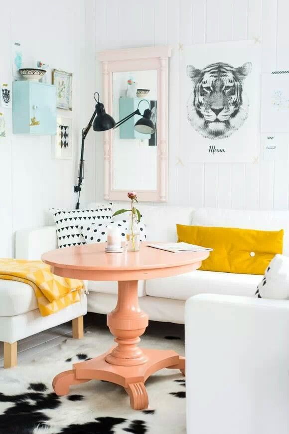 couleur pastel - living room- l'inspiration d'Aube design