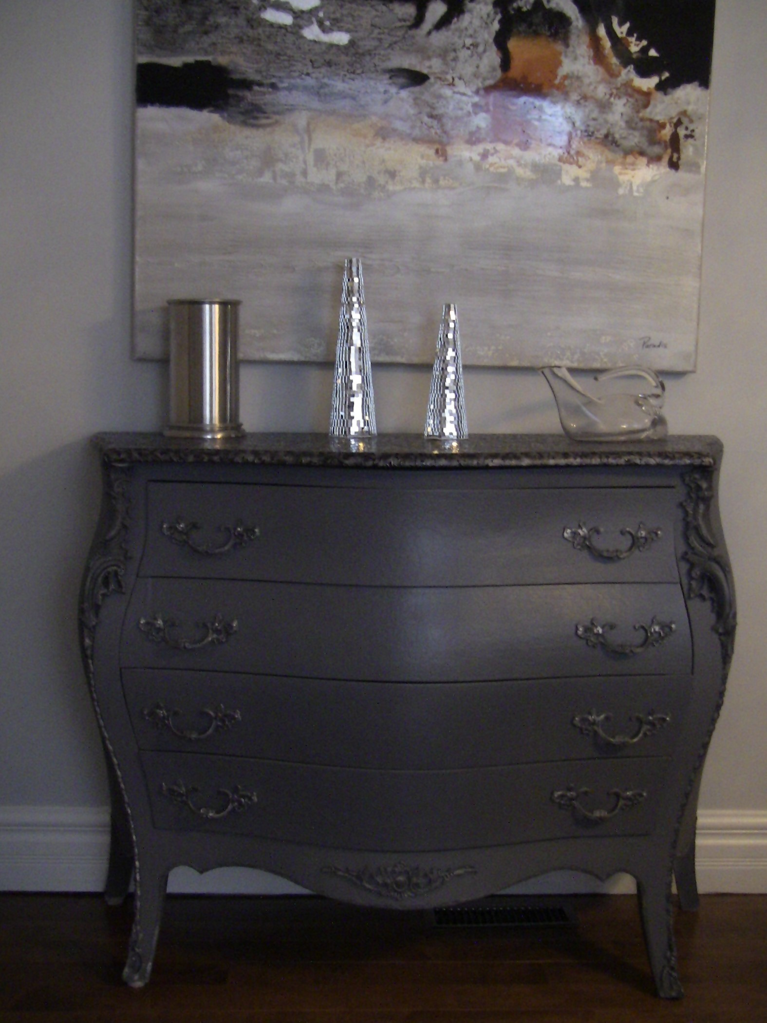 Meuble tv bois peint - Donner des meubles gratuitement ...