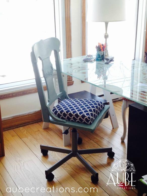 Chaise d'ordinateur Créations Aube En vente sur Etsy/aubedesign