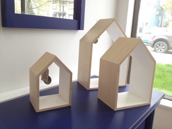 Maison en bois décorative