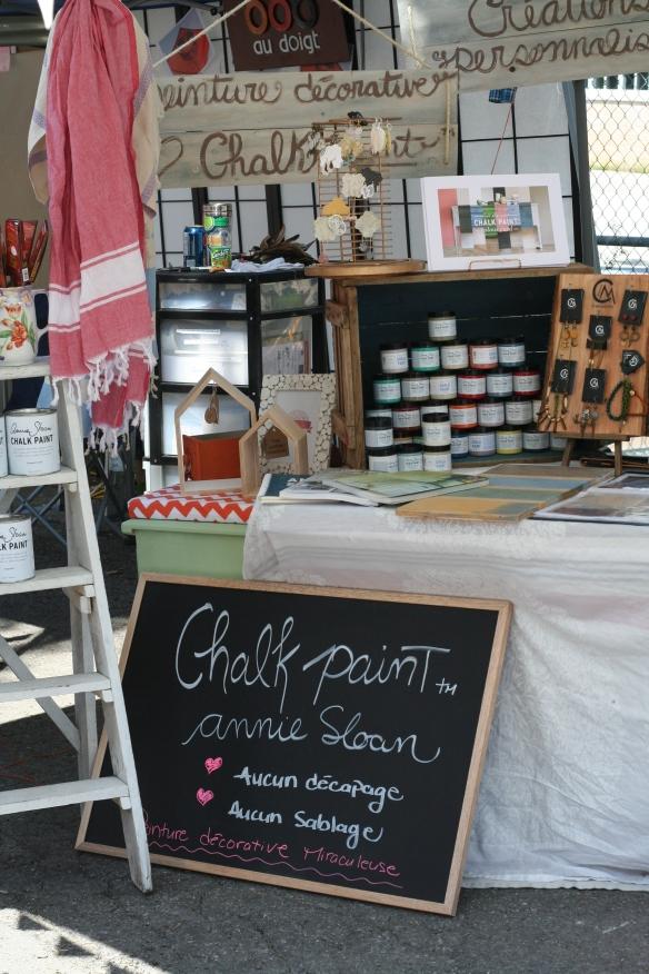 Aube créations - Chalk Paint ™ Annie Sloan - Semaine des artisans Ste-Rose