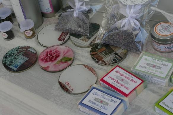 Kiosque Aube salon des artisans Laval - Dot & lil