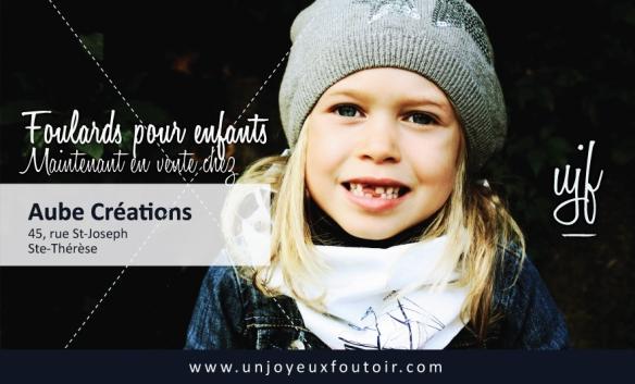 foulard pour enfants