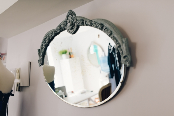 miroir pour boutique