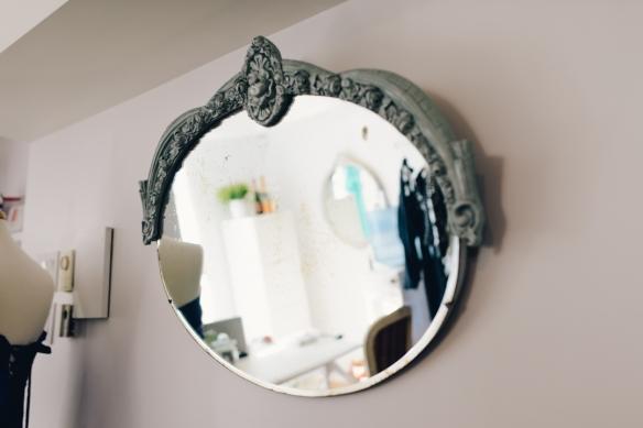 miroir pour boutique