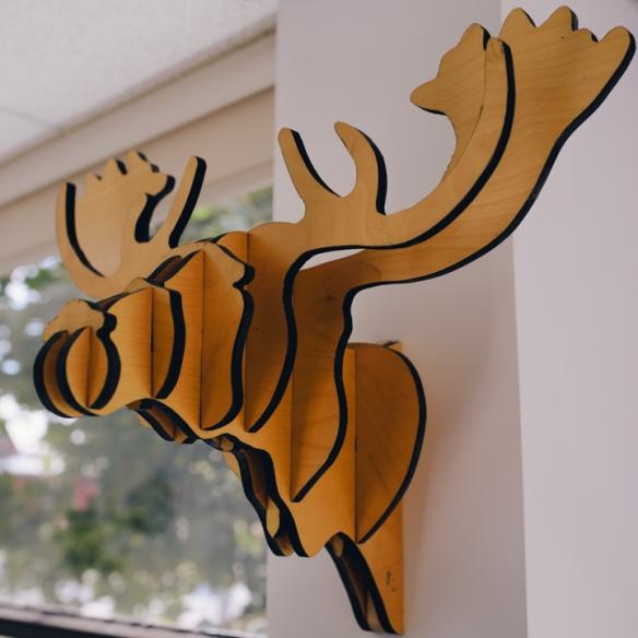 tête animal décorative