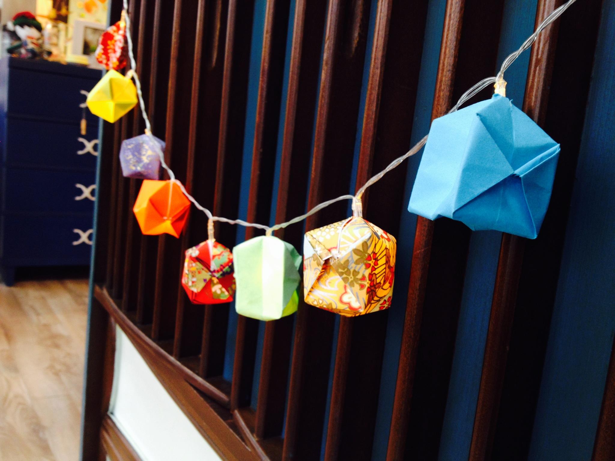 Id es cadeaux pour enfants blogue cr ations aube design - Guirlande papier japonais ...