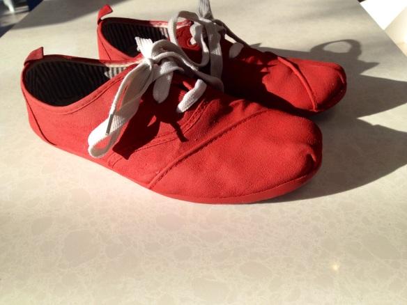 soulier rouge