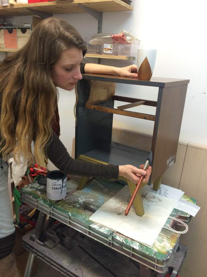 Faites vos réparations, nettoyer et débutez la peinture.