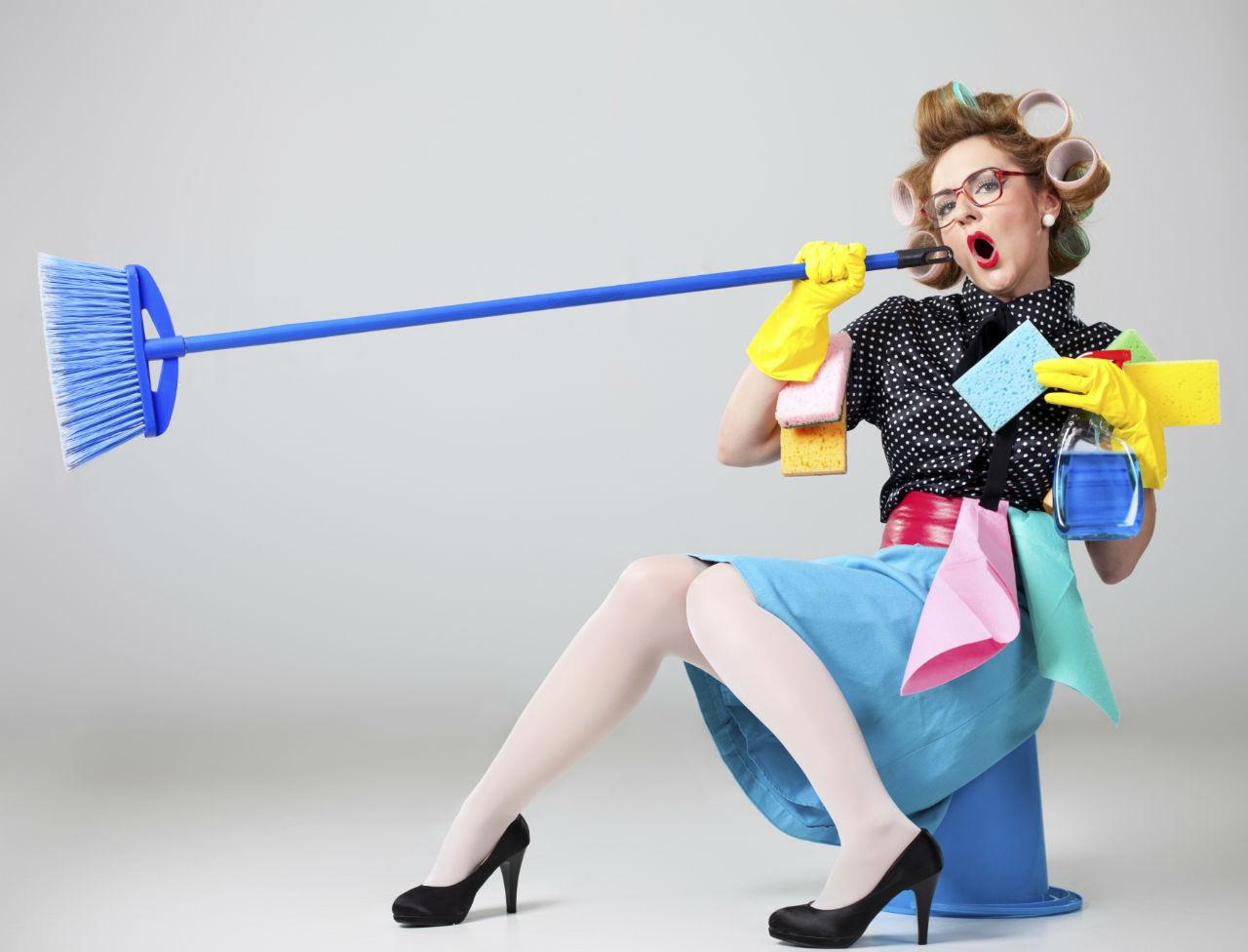 femme ménagère