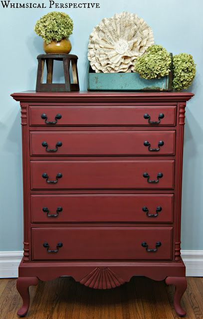 commode primer red