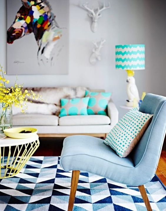 Pastel printemps 2016 - Inspiration déco - Bleu