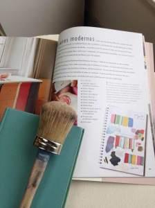 Cours sur les techniques Annie Sloan avec Aube design